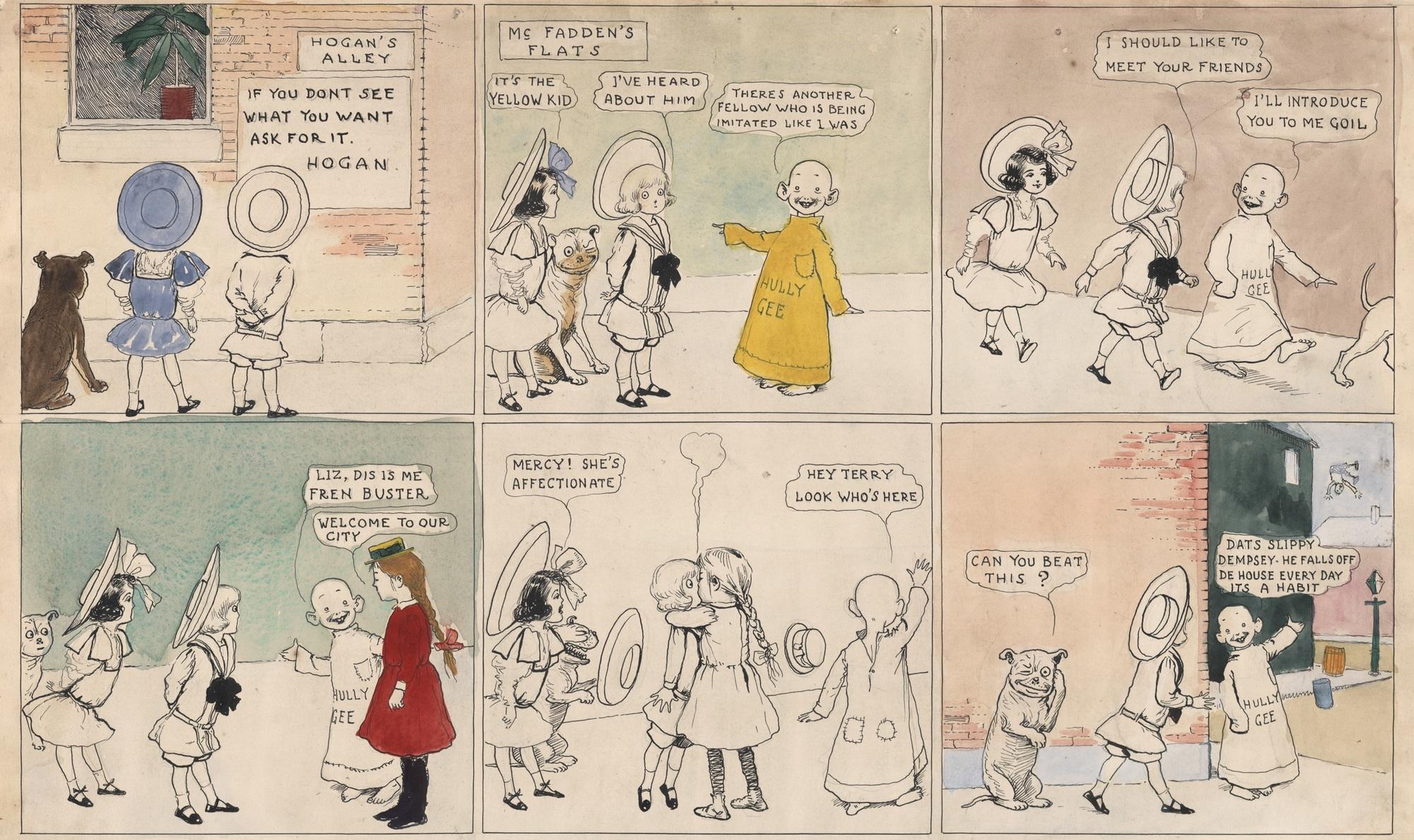 Comics in 19th Century, April 9