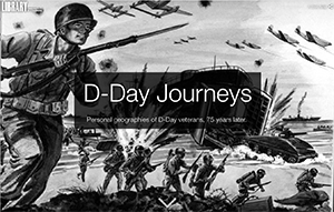 D-Day Journeys screen
