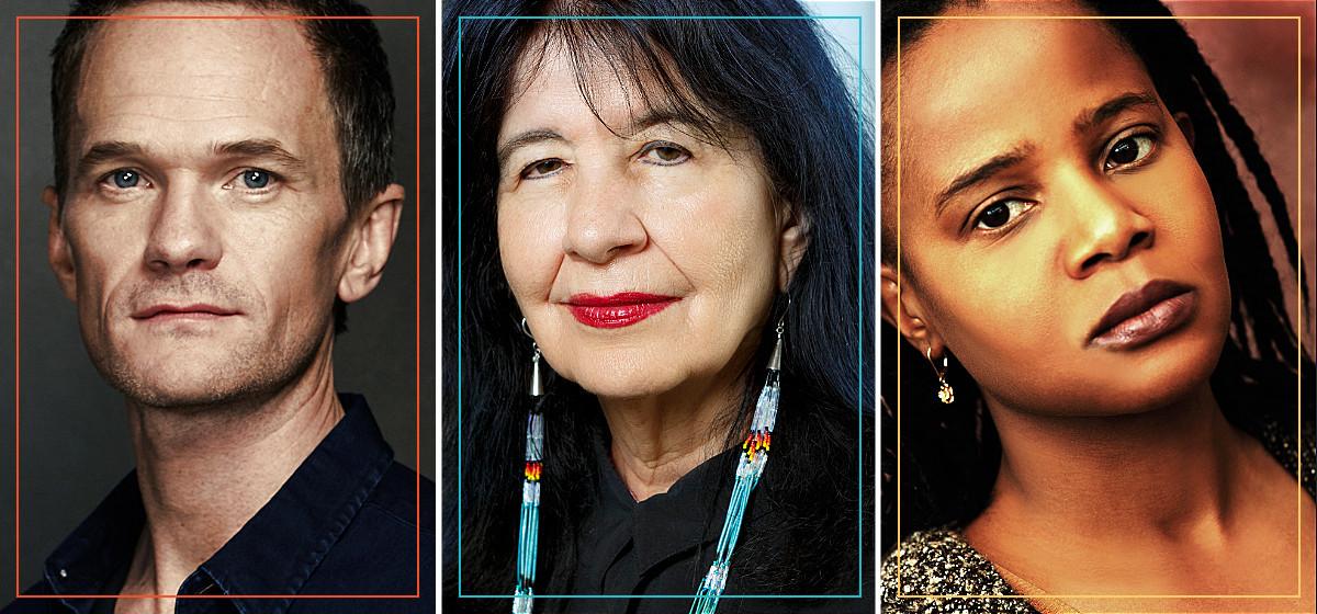 Neil Patrick Harris, Joy Harjo & Edwidge Danticat