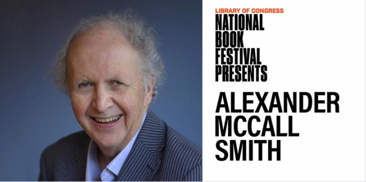Library of Congress National Book Festival Presents Alexander McCall Smith