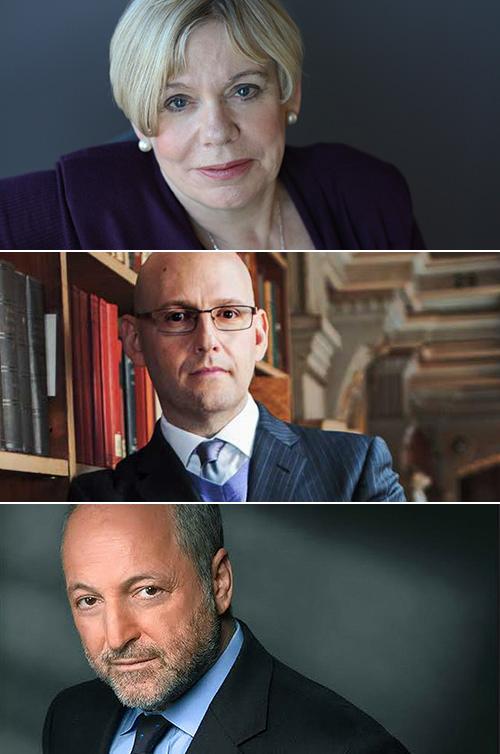 Images of Karen Armstrong, Brad Meltzer and André Aciman