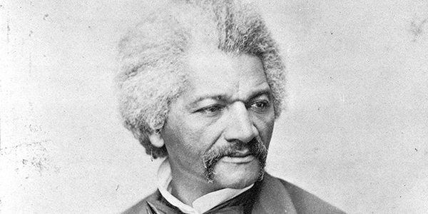 Abolitionist, journalist and author Frederick Douglass. Photo by George Francis Schreiber, April 26, 1870.