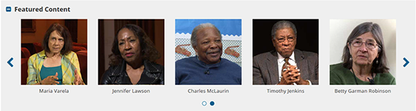Civil Rights History Project screenshot