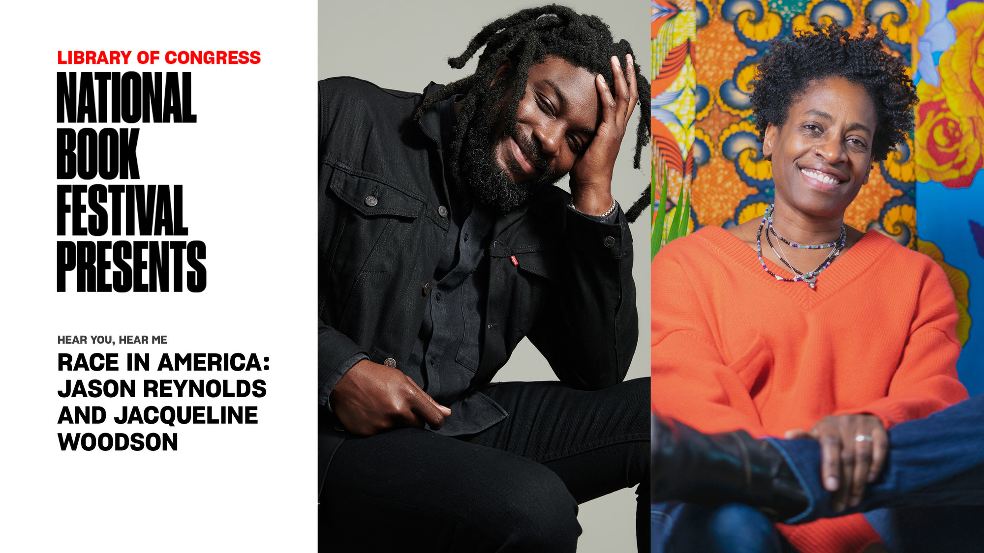 Race in America: Jason Reynolds and Jacqueline Woodson