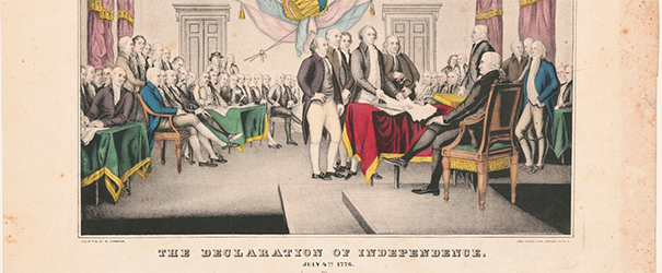 Image of the signing of the Declaration of Independence