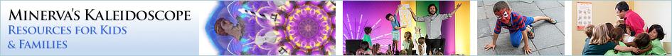 Minerva's Kaleidoscope blog header