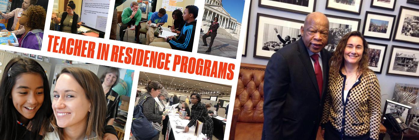 Banner image for teachers in residence program