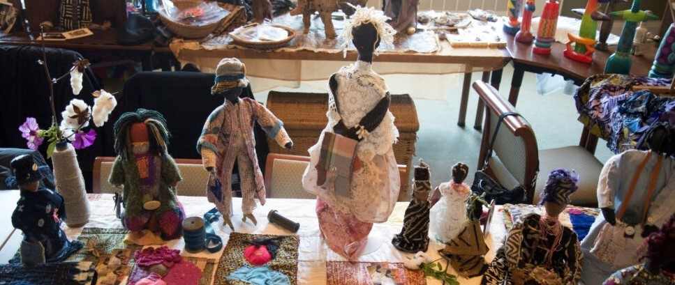 African American art dolls and puppets