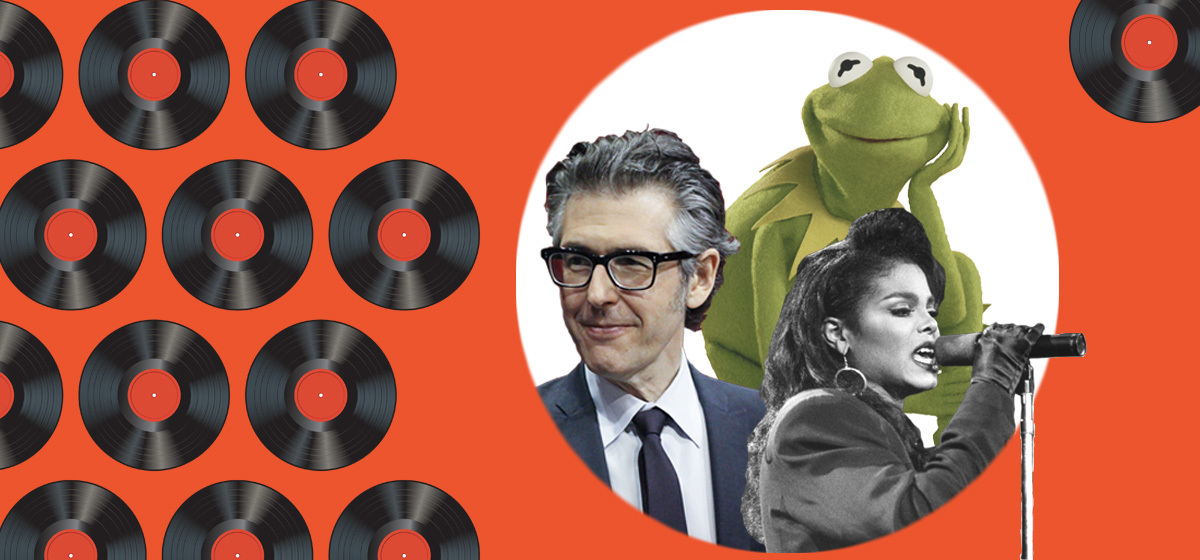 Image featuring Ira Glass, Kermit the Frog, and Janet Jackson