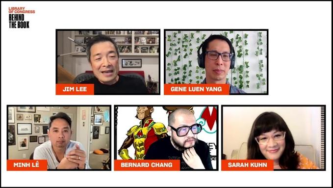 Jim Lee & Asian American Superheroes