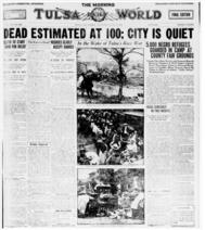 Tulsa World newspaper page
