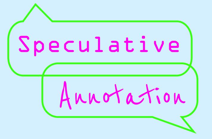 Speculative Annotation logo