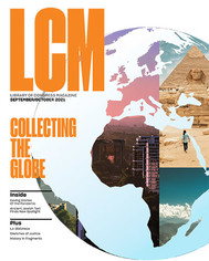 Cover of Sept-Oct 2021 Library of Congress Magazine (LCM)