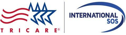 TRICARE and International SOS logos