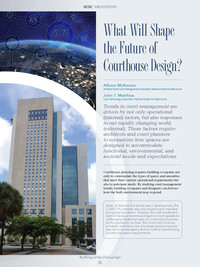 What will shape the future of courthouse design?