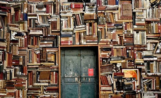 books over door