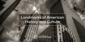 Landmarks of American History and Culture Badge