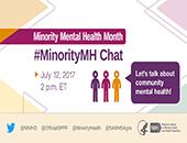#MinorityMH