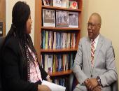 Natasha Williams and Dr. Stephen B. Thomas