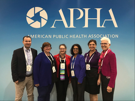 Group photo of participants at the 2018 American Public Health Association Conference