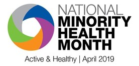National Minority Health Month 2019 logo