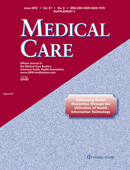 Medical Care June 2019 supplement cover