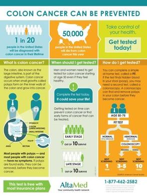 Cancer screening fact sheet