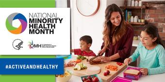 National Minority Health Month 2020 infocard