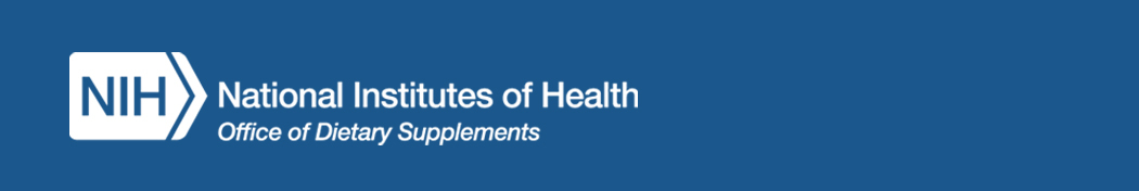 National Institutes of Health Office of Dietary Supplements