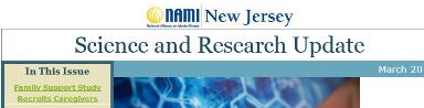 NAMI NJ Newsletter