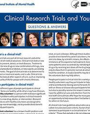 NIMH Clinical Trials Q&A