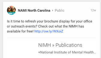 Twitter Chat On Disruptive Mood >> Read The Latest Outreach Connection From Nimh Spring 2016