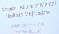 NAMI Utah NIMH Update