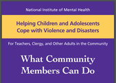 NIMH Brochure Helping Children and Adolescents Cope