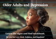 NIMH Older Adults and Depression brochure
