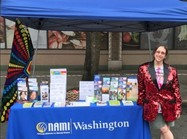NAMI Washington Exhibit at PrideFest Seattle
