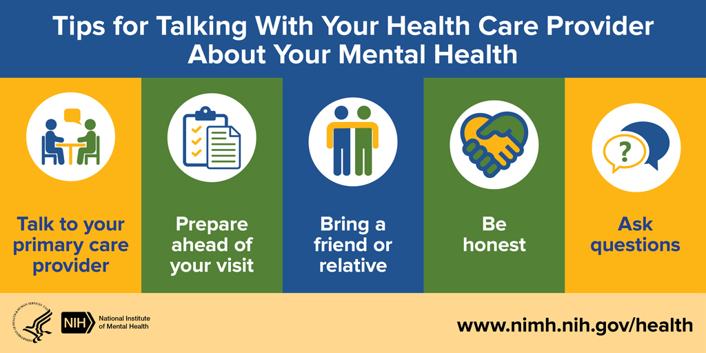 Tips for talking to your health care provider
