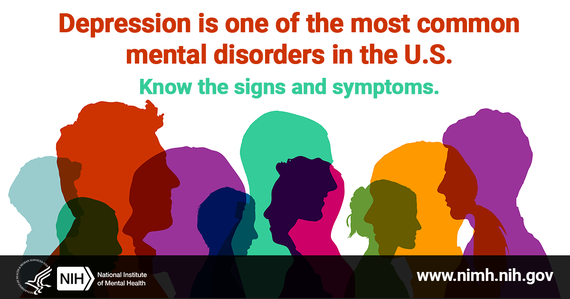 depression is one of the most common mental disorders in the U.S.
