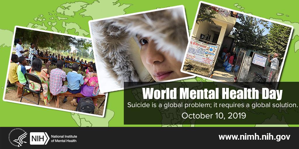 World Mental Health Day, October 10, 2019