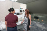 SARDAA showcases Hearing Voices of Support art installation