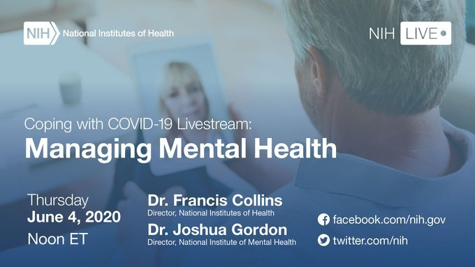 NIH's Coping with COVID-19 Livestream Event