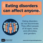 Eating disorders can affect anyone