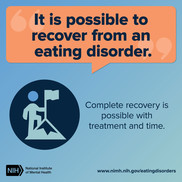 It is possible to recover from an eating disorder