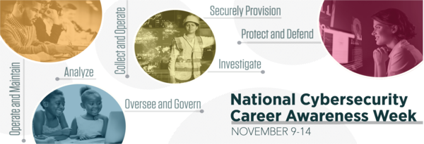 National Cybersecurity Career Awareness Week Banner 2020