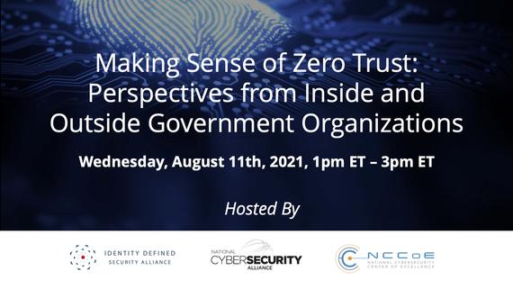 Making Sense of Zero Trust