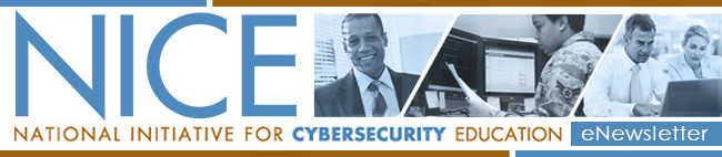 National Initiative for Cybersecurity Education (NICE) eNewsletter