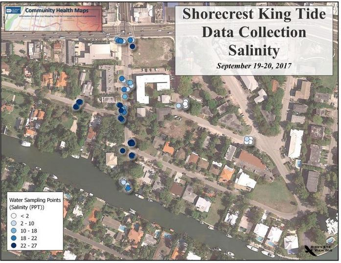 King Tides Florida map