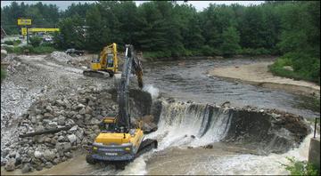 FishNews 247 bulldozer