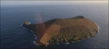 Lehua Island aerial photo