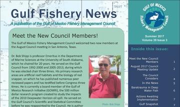 Gulf Fishery News fall